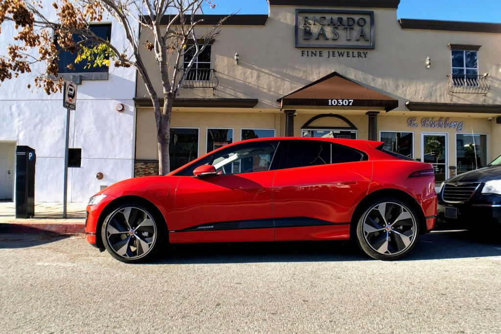 The Jaguar I-Pace Once Again Proves It's No Ordinary Car