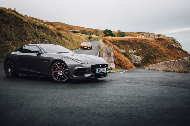 Jaguar take their F-TYPE sports car on road trip to North Wales