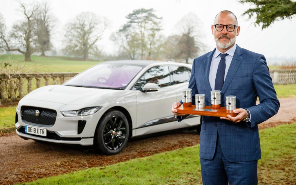 Jaguar i-Pace wins UK Car of the Year 2019 award