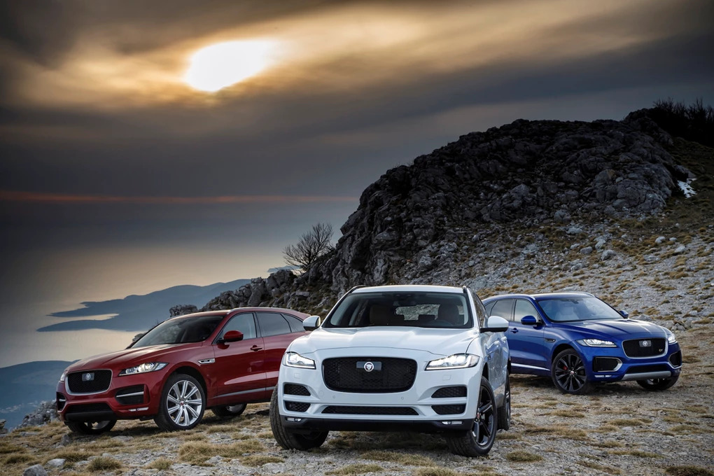 Five things you didn't know about the Jaguar F-PACE