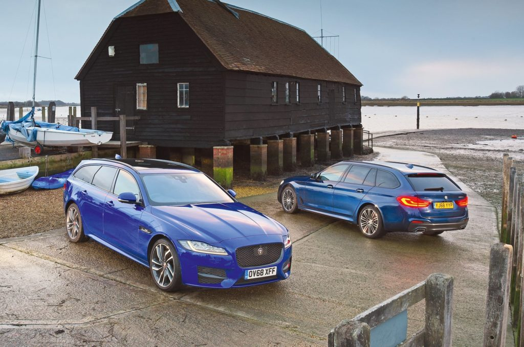 Comparison: BMW 5 Series Touring vs Jaguar XF Sportbrake