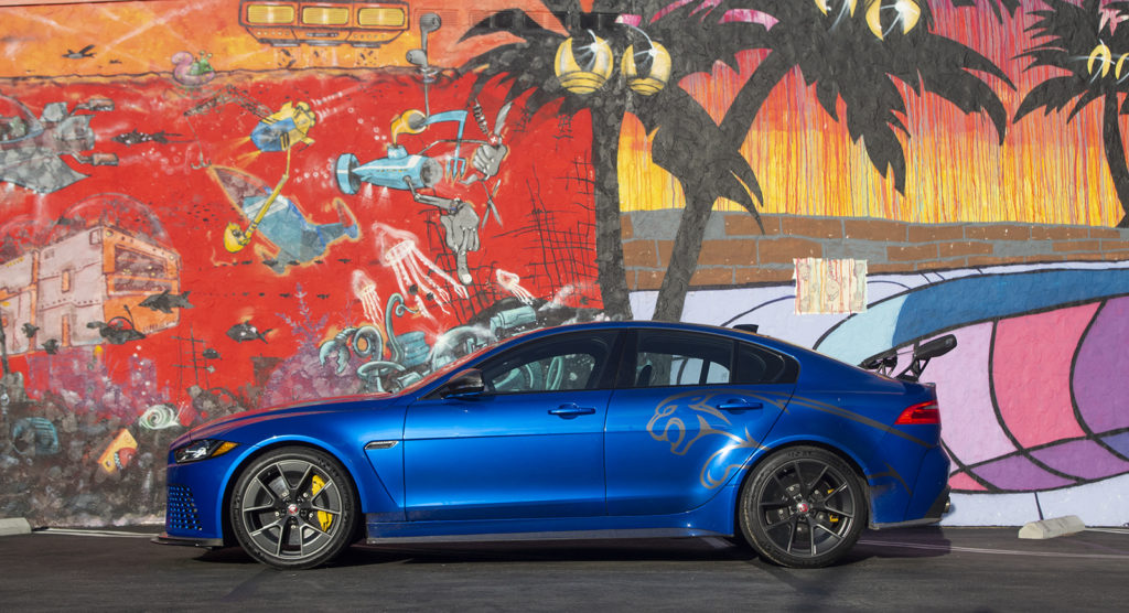Jaguar will sell you a mashup of a hellcat and an Evo