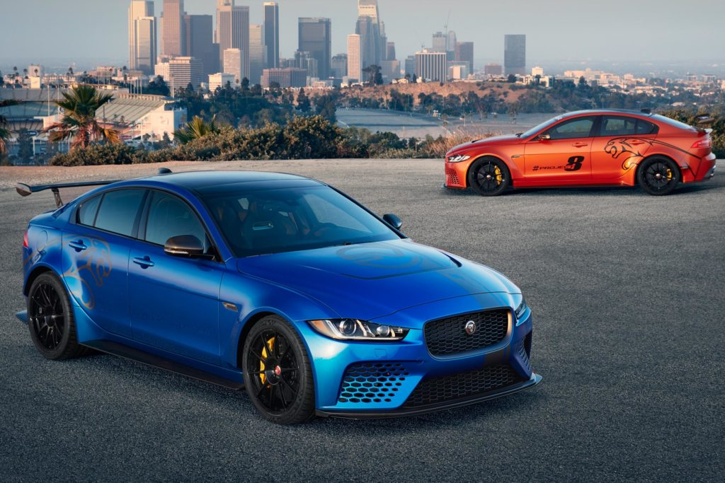 Jaguar XE SV Project 8 report