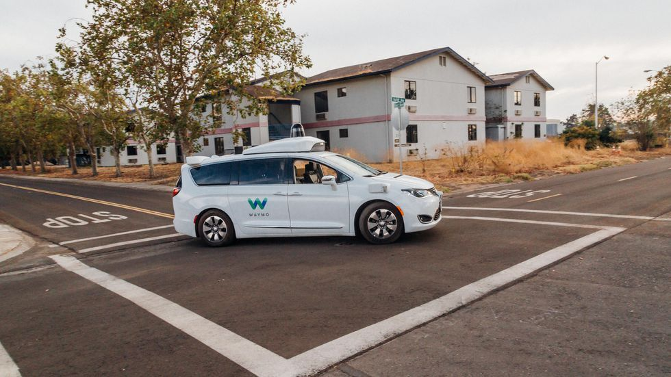 Waymo driverless taxi service tests free Wi-Fi