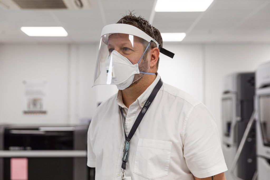 NHS-approved protective visors