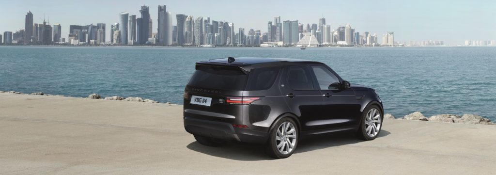 The all-new Land Rover Discovery