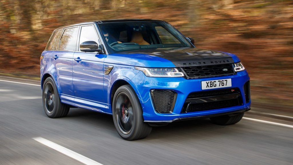 2018 Range Rover Sport SVR review: Thor on wheels
