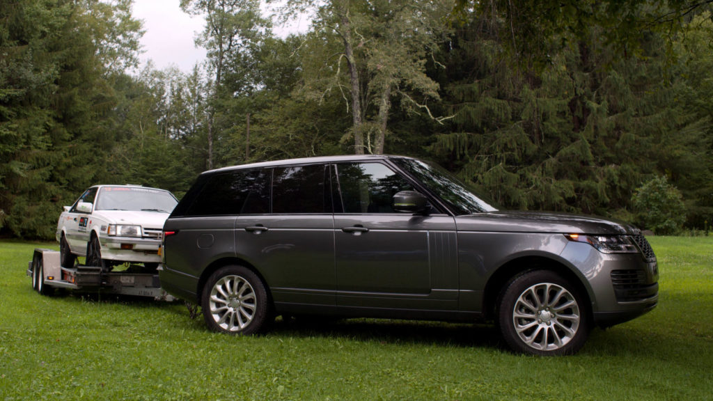 In a towing review of the Range Rover HSE