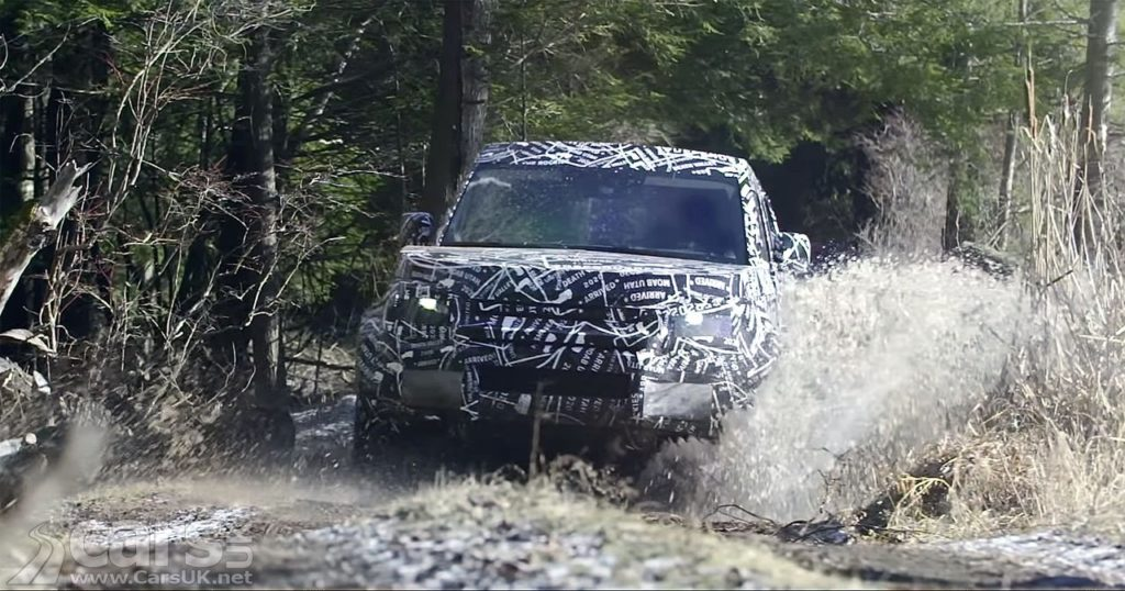 New Land Rover Defender 'Coming to America' on video