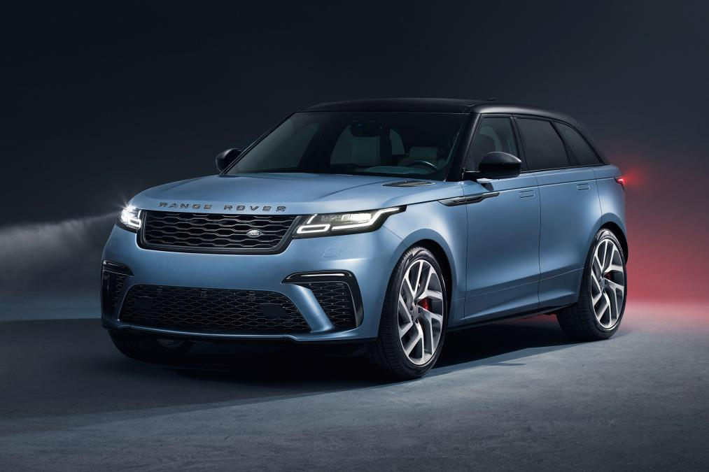 Range Rover has given the Velar a supercharged V8