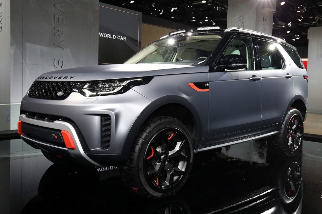 Land Rover scraps plans for 518-hp Discovery SVX