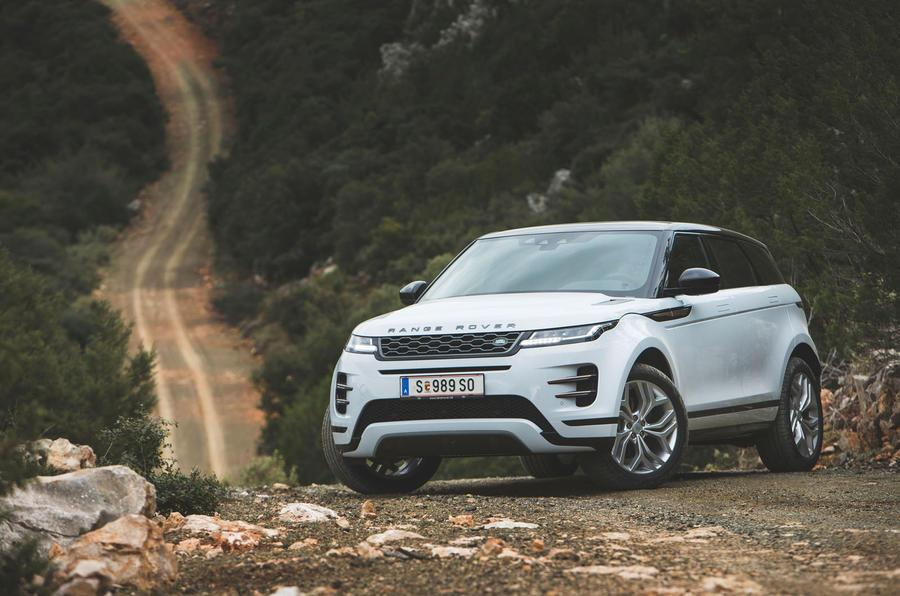 First drives: Range Rover Evoque