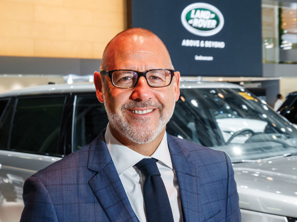 Interview: JLR MD Rawdon Glover