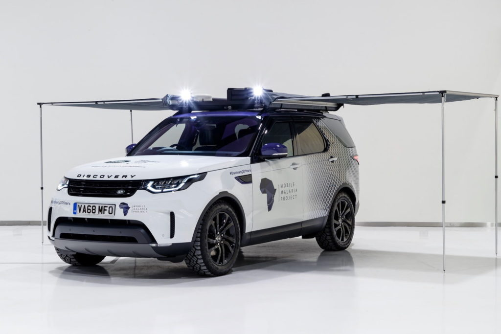 Modified Land Rover Discovery heading to Africa to help fight malaria