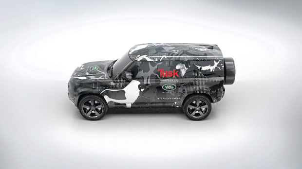 New Land Rover Defender takes shape