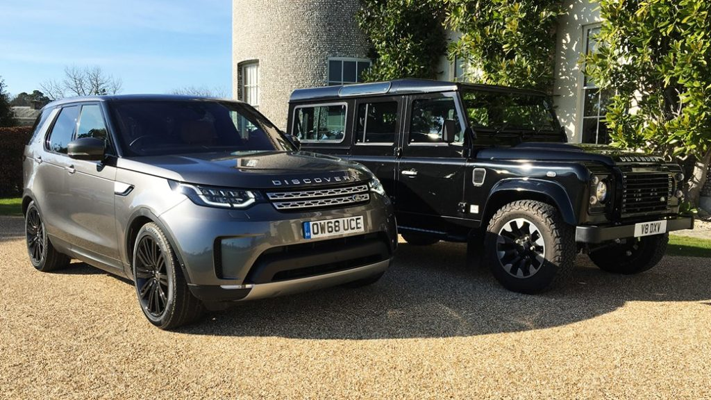 Our Land Rover Discovery: for successful farmers