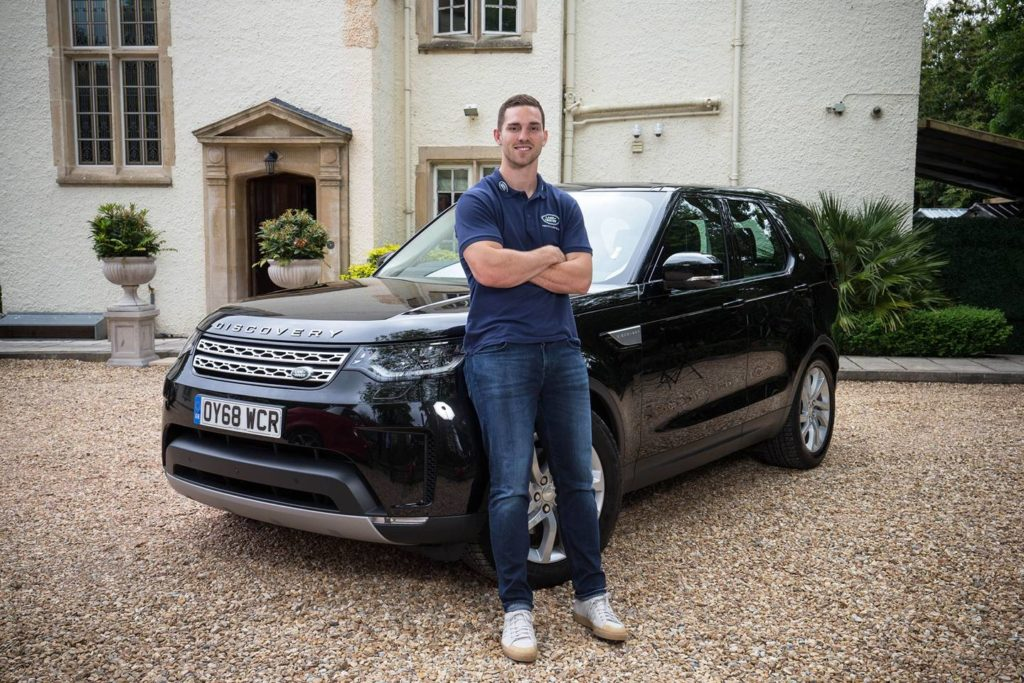 George North explains how he keeps fit for rugby and marriage
