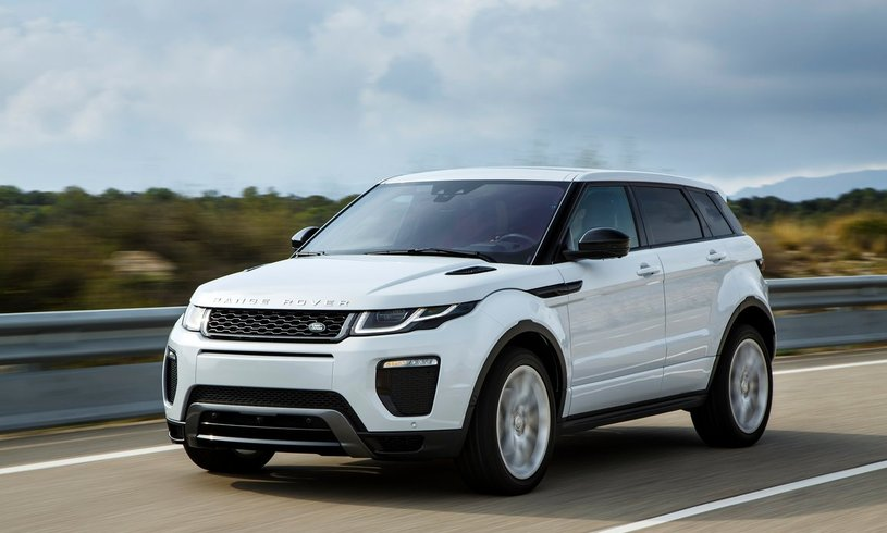 Cars for less than the price of the train: Range Rover Evoque