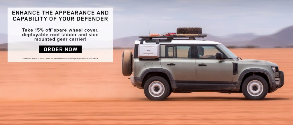 Land Rover Defender Parts Promo (august 2021)