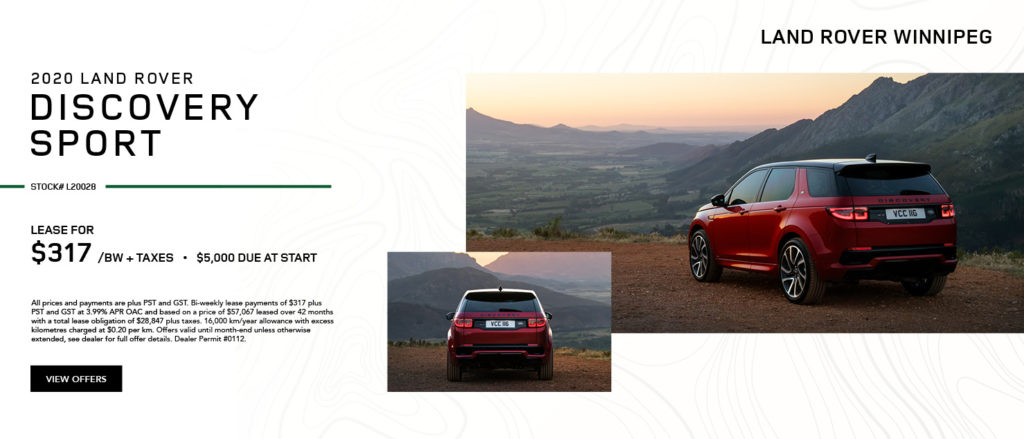 Discovery Sport – December
