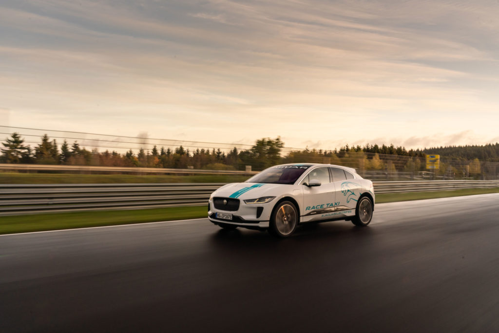 Nürburgring's First Electric Race Taxi: Jaguar I-Pace