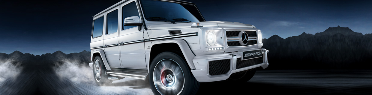 The Mercedes-Benz G550 4×4²