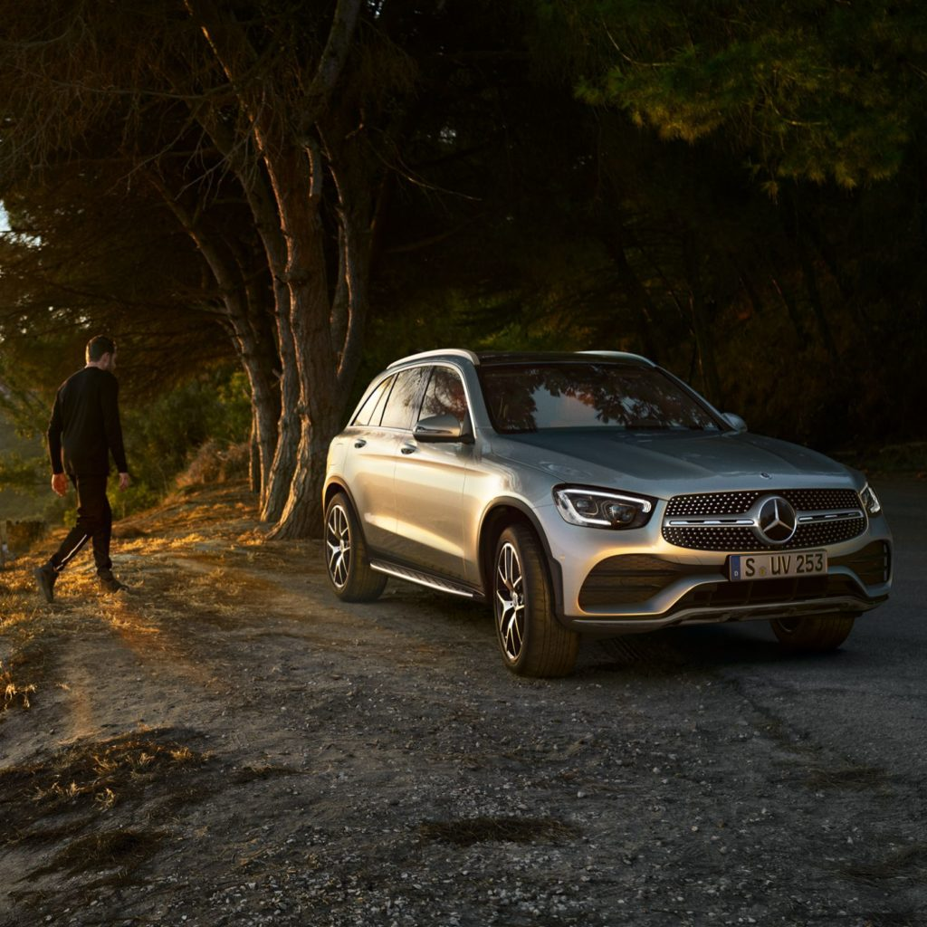 The new GLC. All kinds of strength.