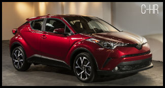 Toyota C-HR model
