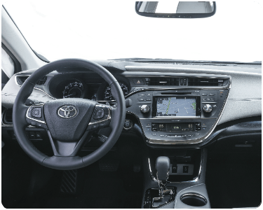 2017 Toyota Avalon interior view