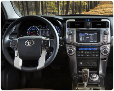 2018 Toyota 4Runner Interior Cabin Dashboard