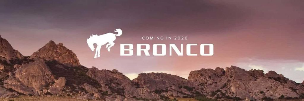 2020 Ford Bronco Hero image