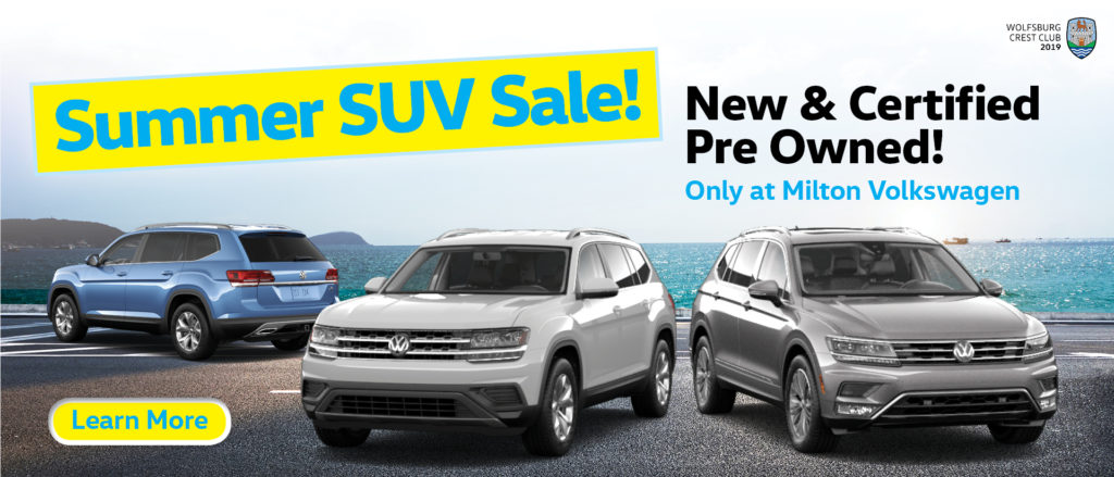 Summer SUV Sale