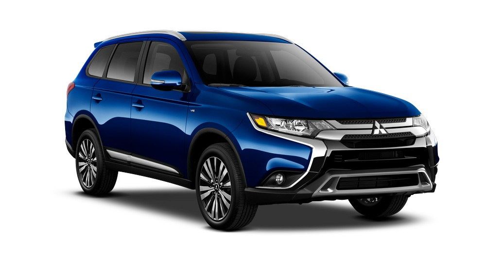 2019 Mitsubishi Outlander SE AWC Touring in Cosmic Blue jellybean
