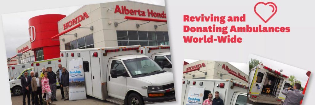 Donating Ambulances World-wide