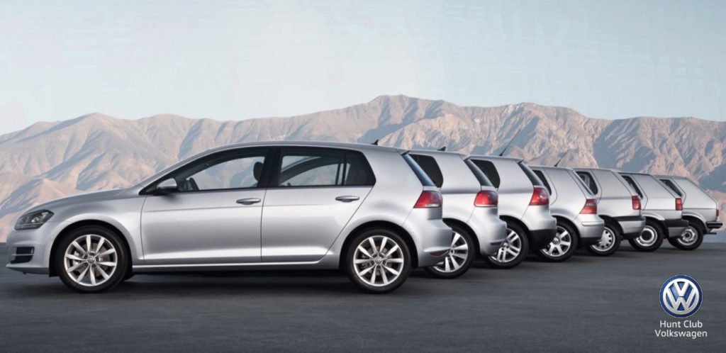 Volkswagen Golf Turns 45 Hunt Club VW Ottawa