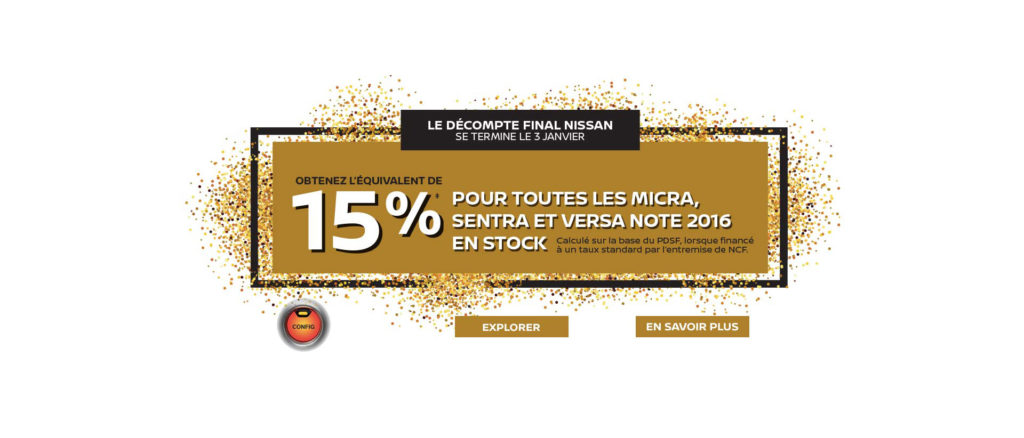 Nissan Year End Offer