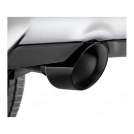 authentic mopar exhaust tips black