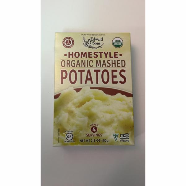 homestyle organic mashed potatoes the