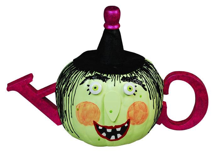 Witch Teapot Pumpkin