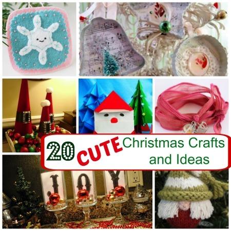 20 Cute Christmas Craft Ideas