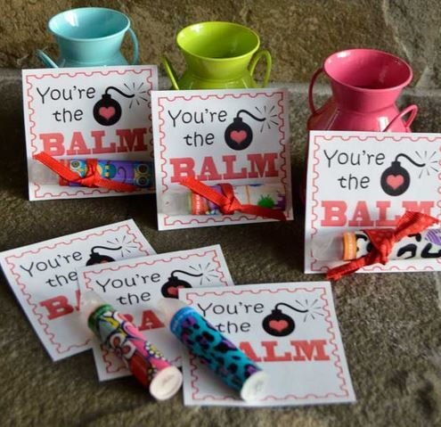 Youre The Balm Free Printable Valentines