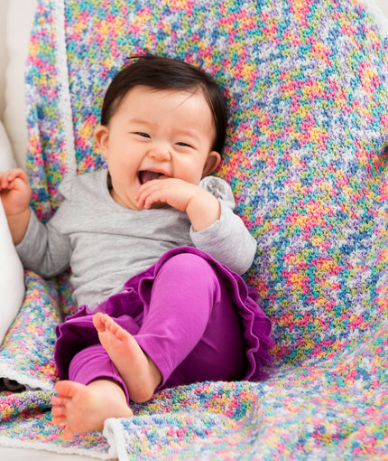 Butterfly Days Crochet Baby Blanket