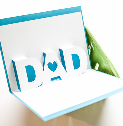 Fathers Day 3D Card