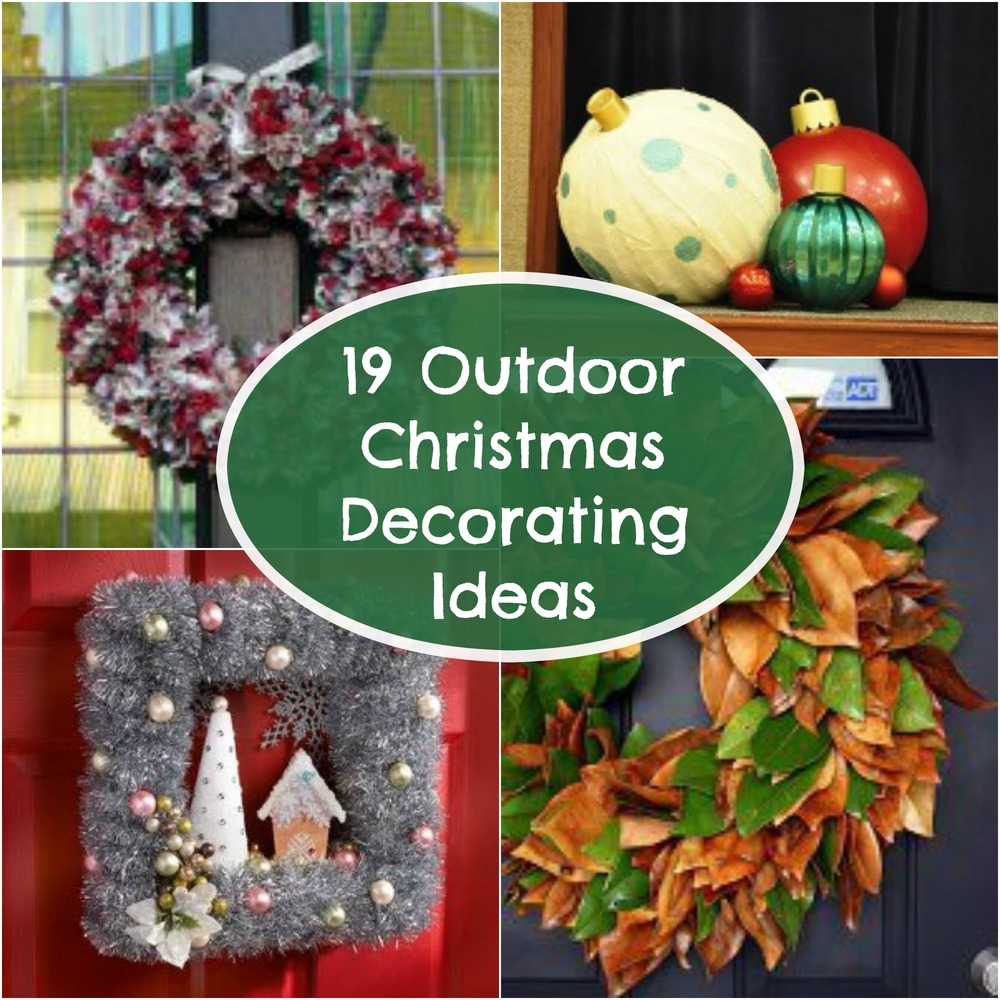 Patterns Outdoor Christmas Decorations