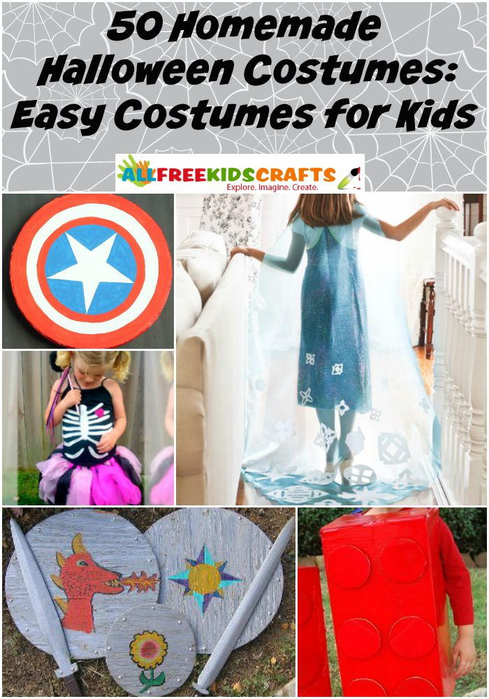 50 Homemade Halloween Costumes Easy Costumes For Kids