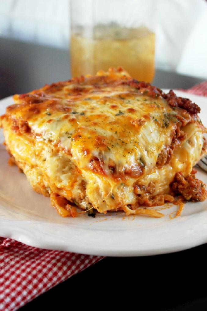Louisiana Cajun Lasagna | FaveSouthernRecipes.com