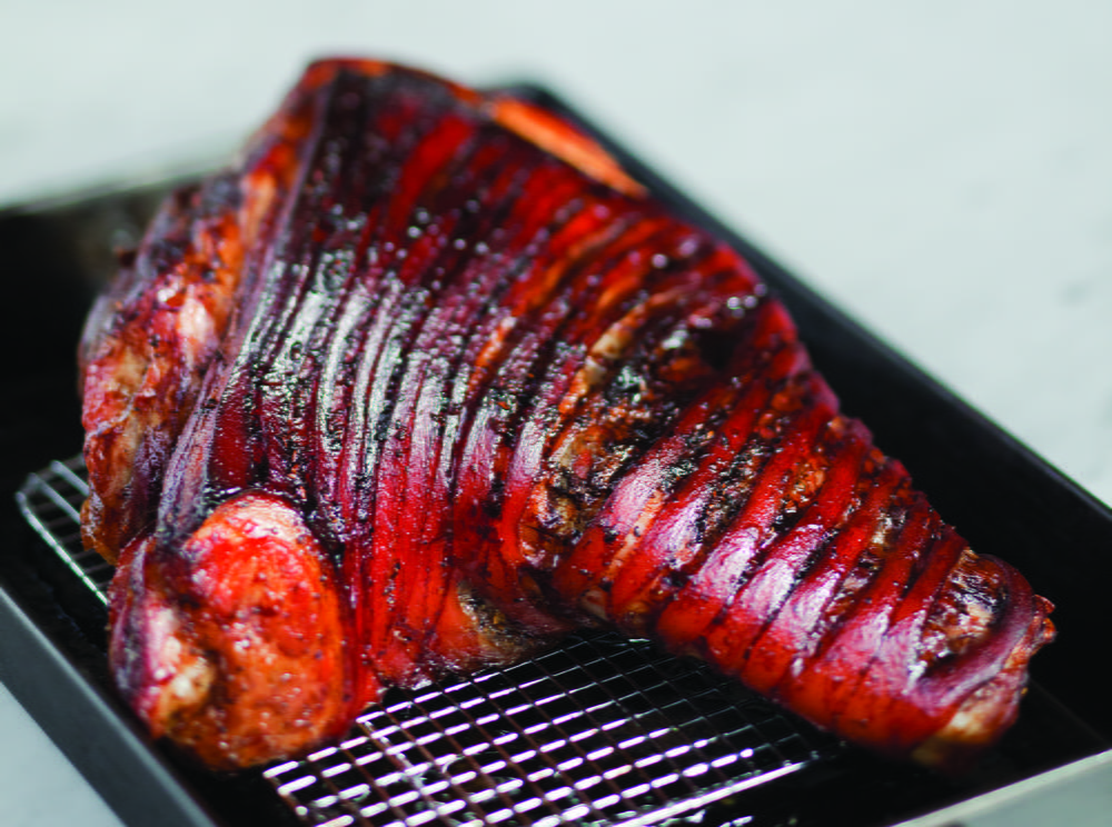 Roasted Bone Pork Roast