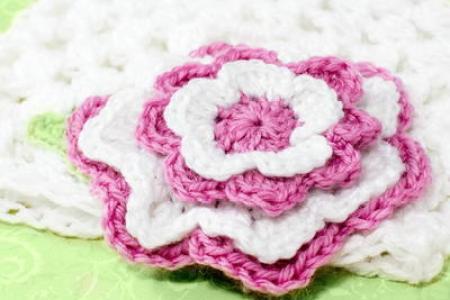 Best Wild Flowers Big Crochet Flower Pattern Wild Flowers