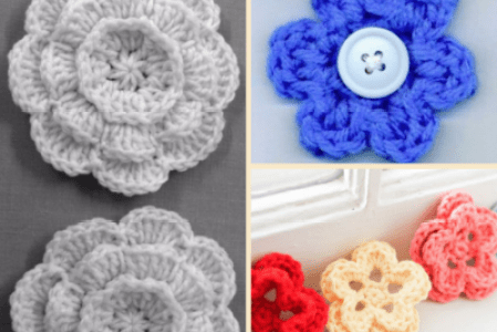 Flowers Near Me Easy Crochet Flower Flowers Near Me