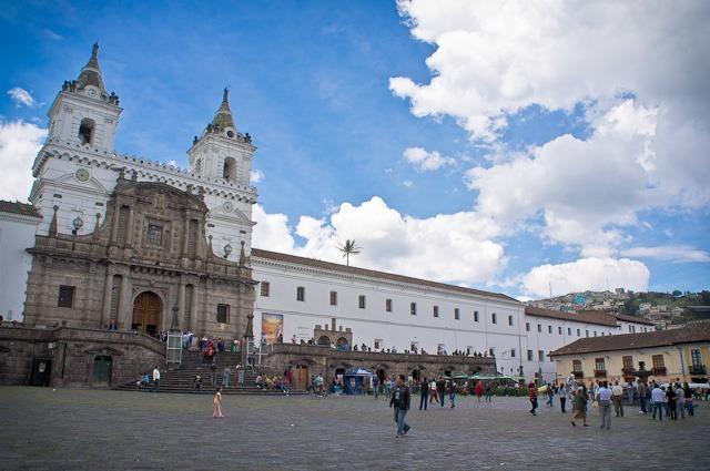 centre historique Quito Equateur